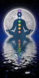 Meditación de Chakra Imagenes de archivo