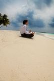 Meditación del asunto Foto de archivo