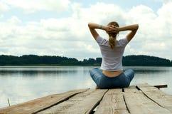 Meditação Imagens de Stock Royalty Free