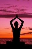Meditação. Foto de Stock