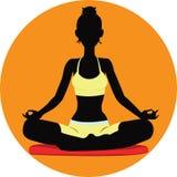 Meditare Fotografie Stock Libere da Diritti