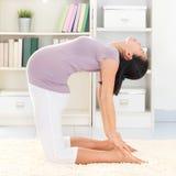 Meditare di yoga Fotografie Stock Libere da Diritti