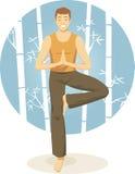 Meditate illustrazione di stock
