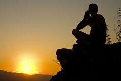 Meditate stock images