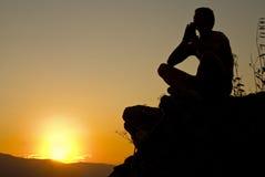 meditate Στοκ Εικόνες