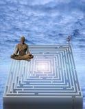 meditate illustrazione vettoriale