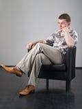 Meditate o homem foto de stock royalty free