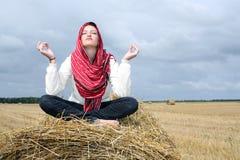 Meditatie Royalty-vrije Stock Afbeelding