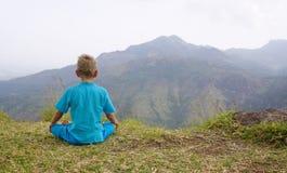 Meditatie Royalty-vrije Stock Foto