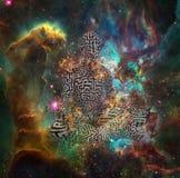 meditatie royalty-vrije illustratie