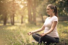 meditatie royalty-vrije stock fotografie
