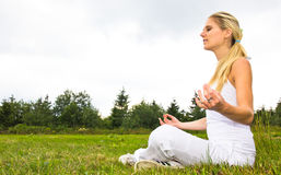 Meditatie Stock Foto's