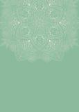 Meditatieachtergrond met mandala royalty-vrije stock fotografie