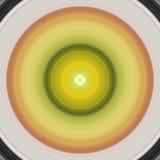 Meditatieontwerp in koele kleuren stock foto