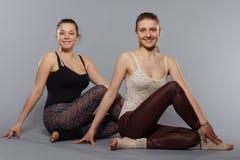 meditating женщины йога Стоковое Изображение RF
