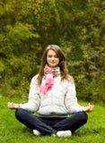 Meditating Στοκ Εικόνα