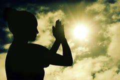 meditating Стоковое фото RF