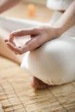 meditating Стоковое Фото