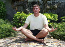 Meditating Stock Photos