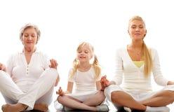 meditating Стоковые Фото