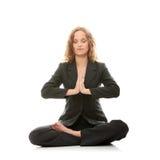 Meditating Immagini Stock