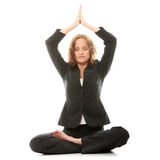 Meditating Immagine Stock Libera da Diritti