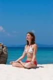 Meditating Royalty Free Stock Image