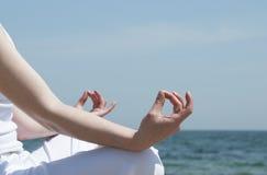 Meditating Стоковая Фотография RF