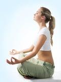 Meditating fotos de stock