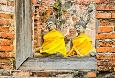 Meditating buddha Royalty Free Stock Image