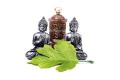 Meditating buddha Stock Image