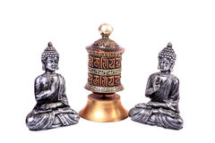 Meditating buddha Stock Photography
