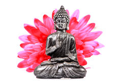 Meditating buddha Royalty Free Stock Images