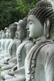 Meditating Buddha statue Royalty Free Stock Photos