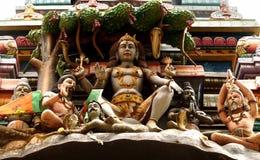 Meditating Lord Shiva Stock Photo
