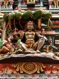 Meditating Lord Shiva Stock Images