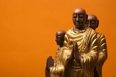 Free Meditating Statues. Royalty Free Stock Photo - 3532895