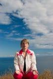 Meditating01 Photos stock