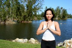 Meditation 2 Stock Photo