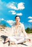 Meditation Stockfoto