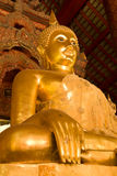 Meditation. Buddha statue in the temple,Thailand Royalty Free Stock Photos