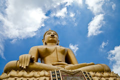 Meditation. Buddha statue in the Thai temple,Thailand Stock Images