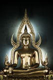 Meditation. Buddha statue in the Thai temple,Thailand Royalty Free Stock Photography