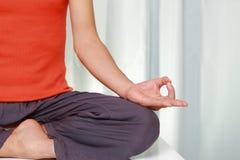 meditation Arkivfoto