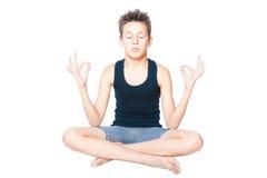 meditation Lizenzfreie Stockfotos