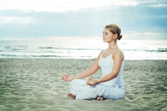 Meditation. Royalty Free Stock Images