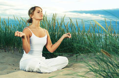 Meditation. Royalty Free Stock Photography