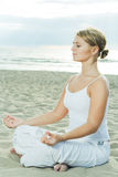 Meditation. lizenzfreies stockbild