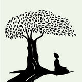 meditation Stockbild