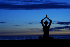 Meditation. Royalty Free Stock Images